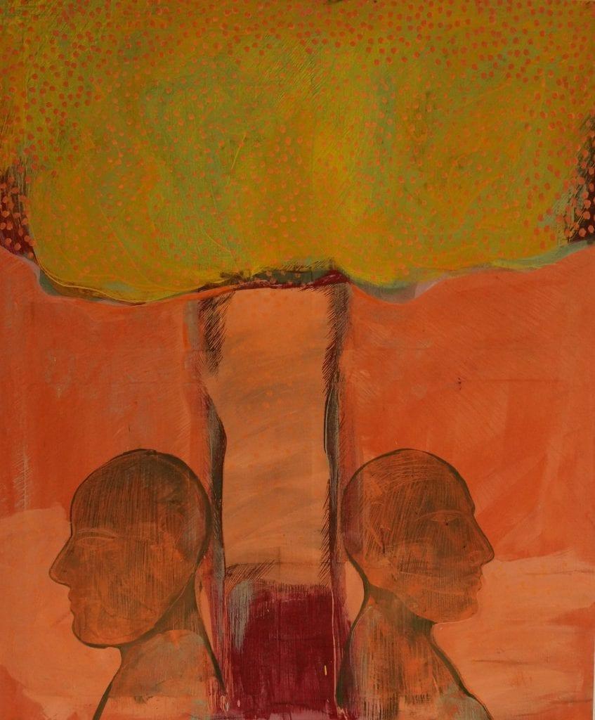 Family Tree, 120x100, egg tempera on canvas