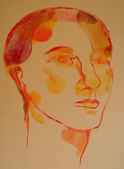 Kvinde, hovede II