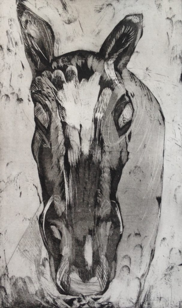 etching/drypoint