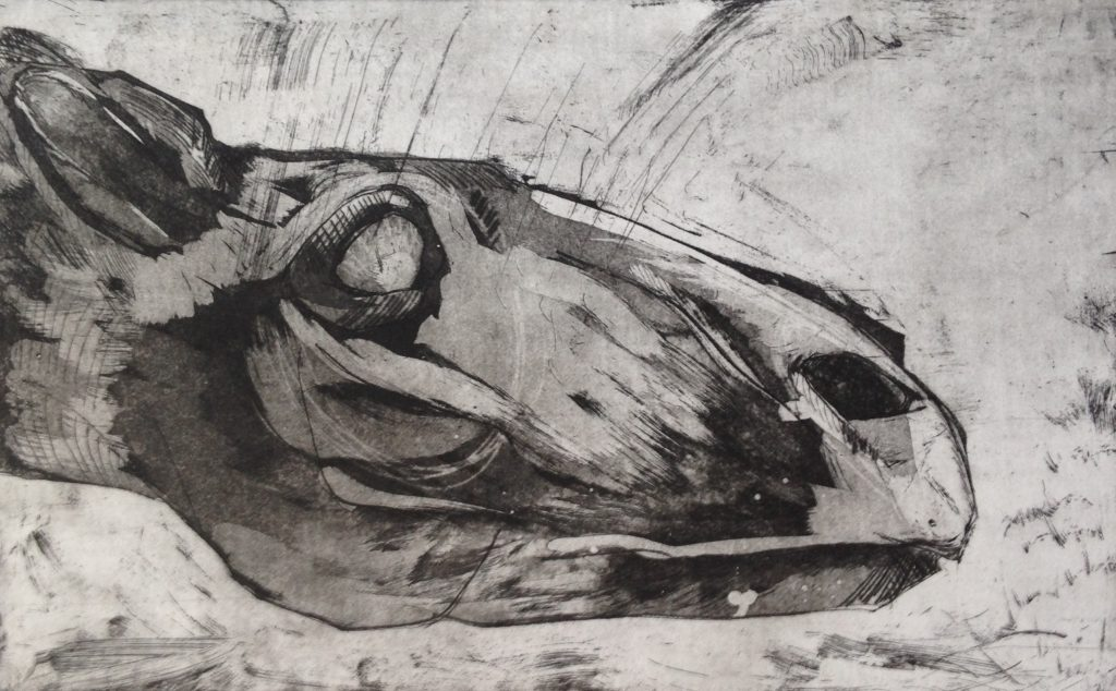 etching/ drypoint
