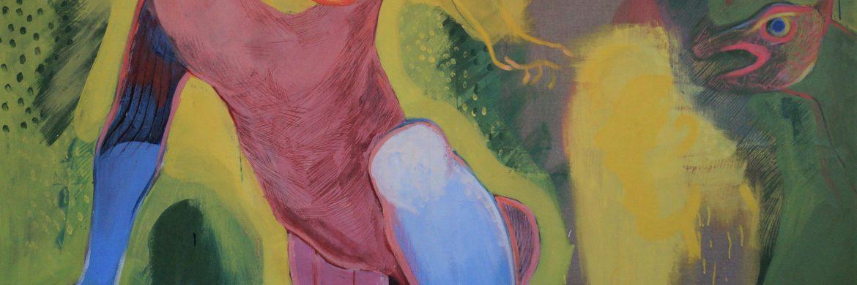 Aktæon Udstilling GALLERI SALT / Forårsåbning 2021 / AKTÆON: Torsd. d. 29. April kl. 15 – 20 GALLERI SALT åbner Forårets VISUAL ART med 3 udsøgte værker af billedkunstneren INGRID DUCH. Titlen er: AKTÆON og refererer til græsk mytestof, hvor AKTÆONs beluring af Jagtgudinden DIANA som badenymfe har voldsomme konsekvenser.